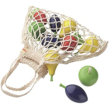 HABA Wooden Fruit Set in Shopping Bag
