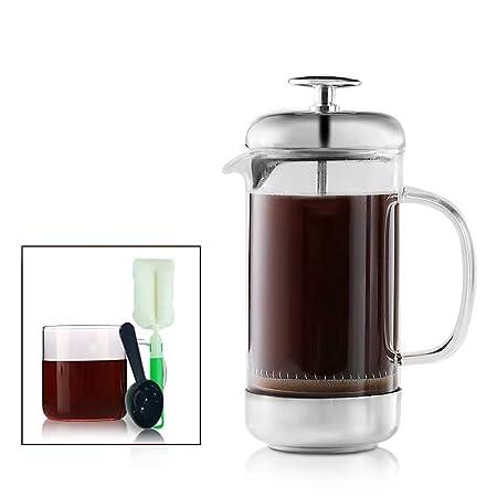 Sisyria Máquina de café de Prensa Francesa Máquina de té de Vidrio ...