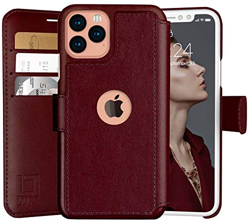 LUPA Leather Magnetic Closure Burgundy product image