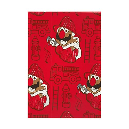 CafePress Mr. Potato Head Firefighter Rectangle Magnet, 2