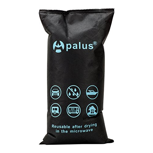 Apalus Reusable Auto Dehumidifier, Dry Air, Silica Gel Car Moisture Absorber, Car Dehumidifier Bag XL Size, 1KG