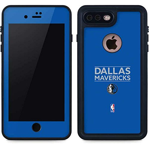 Dallas Mavericks iPhone 8 Plus Case - Dallas Mavericks Standard - Light Blue | NBA X Skinit Waterproof Case