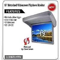Accele Zycom LCDBFD19WM 19 inch Motorized Overhead Flip Down Monitor w/HDMI Input