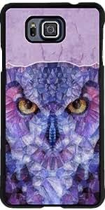 Funda para Samsung Galaxy Alpha - Abstracta Búho by Ancello