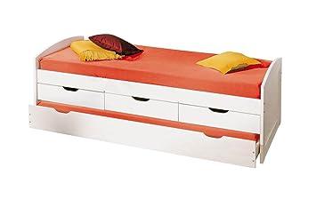 Inter Link Bett Funktionsbett Kinderbett Einzelbett Stauraumbett