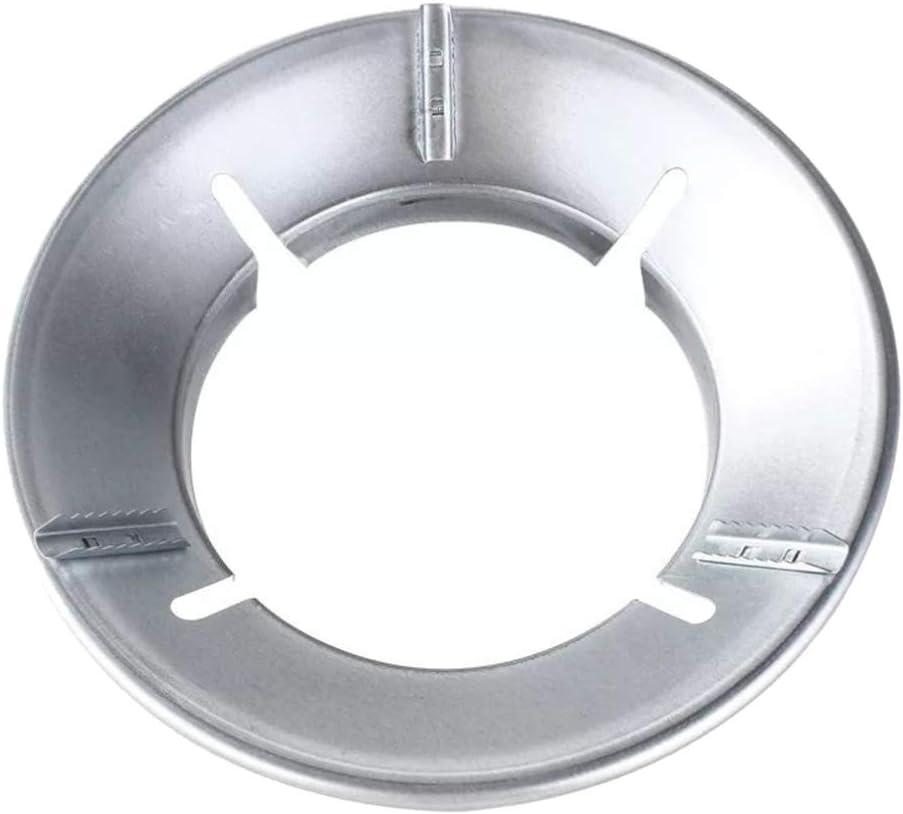 Cabilock Soporte de Wok para Encimeras de Gas Soporte de Sartén de Hierro Fundido Salvamanteles para Estufa de Leña Estufa Estufa Anillo de Soporte de Quemador de Gas