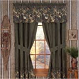 Bundle-89 Whitetails Lined Drape in Green Review
