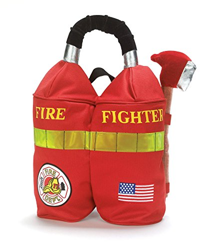 [Elope 154869 Firefighter Backpack Child] (Womens Firefighter Costumes)
