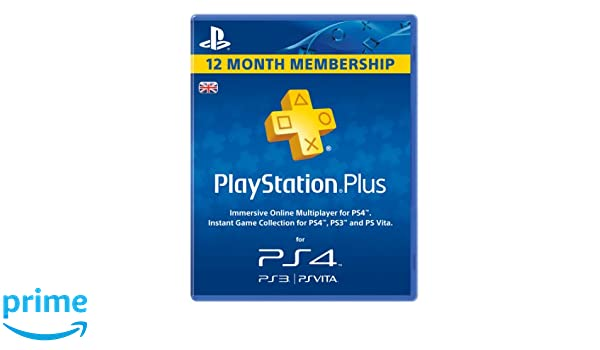 Sony PlayStation Plus PSN 365 Day Membership Subscription ...