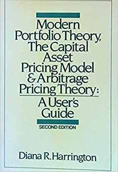 the capital asset pricing theory Capital asset pricing model was put forward separately by william sharpe, jan mossin, john linter and jack treynor the model was developed upon the earlier theory founded by harry markowitz know.