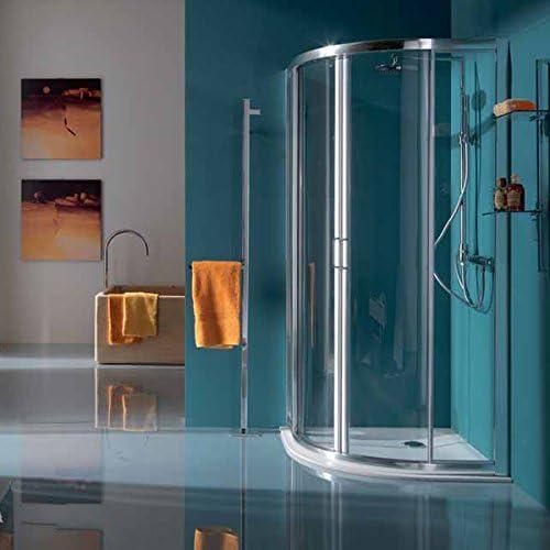 Samo Box redondo 71,5/75,5 America Up (6870 TR) marco cromo brillante/paneles Cristal Transparente: Amazon.es: Bricolaje y herramientas
