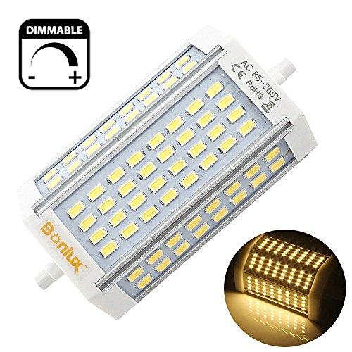 Bonlux 30w dimmerabile r7s proiettore led lampadina 118mm for R7s led dimmerabile