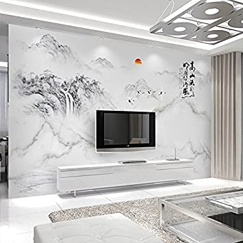 SunZhi 5D Stereoskopische 8D Wandbilder Videos Wände Wohnzimmer Atmosphäre  Kontinentale Prägung Blume 3d Wallpaper Tv