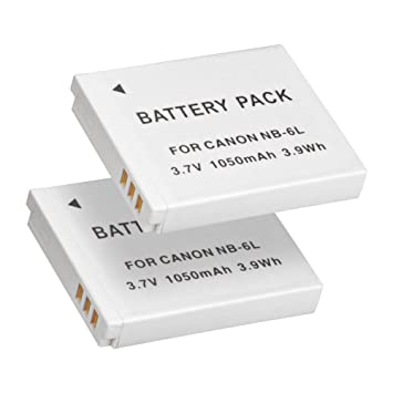 NB6L NB6LH Battery BPS 2pcs Fully Decoded Battery Amazonco