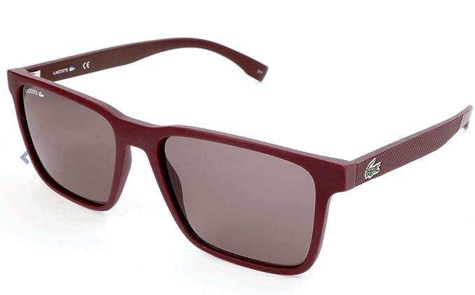 Lacoste L872S 604 57 Gafas de Sol, Matte Burgundy, Unisex ...