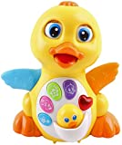 Best Push Toy For Infant Walking - Super Interactive LED Light Up Quacking Duck Toy Review