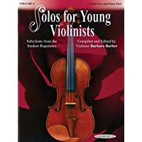 Solos for Young Violinists, Vol 4: Selections from