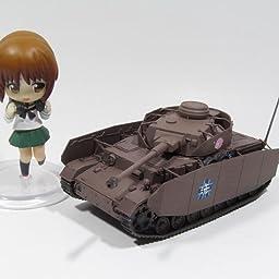 Amazon Co Jp プラッツ ガールズ パンツァー 劇場版 4号戦車h型 D型改 あんこうチーム もっとラクラク作戦です 1 72スケール プラモデル Gp72 12 ホビー