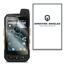 6X - Spartan Shields Premium HD Screen Protector Skin Cover For Sonim XP7 - 6X