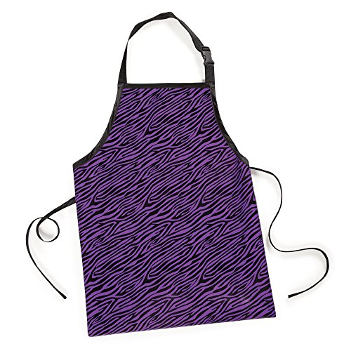 UPC 721343620310, Top Performance  Zebra-Printed Value Aprons - Versatile and Economical Aprons for Professional Pet Groomers - Purple