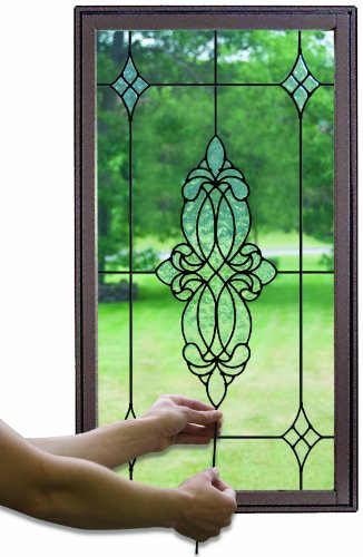 Stick On Stained Glass.Wall Pops 1 82 M Stained Glass Caming Lines Long Black
