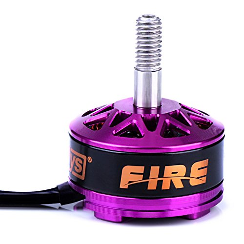 DYS FIRE RC Brushless Motor,2600KV 3-4S Brushless Motor For 200 210 220 280 FPV Racing Frame Multirotor Quadcopter in Purple (2600CW)