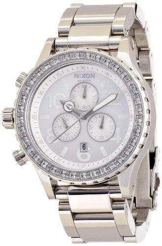 [ニクソン]NIXON 42-20 CHRONO フォーティートゥートゥエンティー クロノ CRYSTAL NA037710-00 レディース