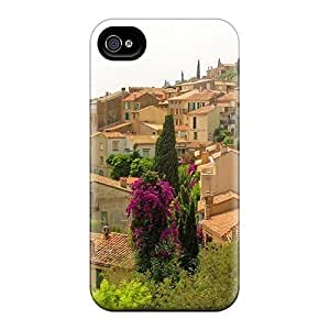 Hard Plastic Iphone 4/4s Case Back Cover,hot Provence Cote D Azure Case At Perfect Diy by supermalls