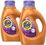 Tide plus Febreze Freshness Liquid Laundry Detergent - 46 oz - Spring & Renewal - 2 pk