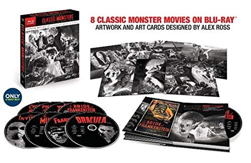 Universal Classic Monsters: The Essential Collection (Limited Edition Alex Ross Steelbook) ()