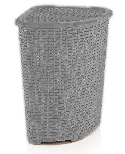 Brand Rattan 1.47 Bushel Corner Laundry Hamper (Corner Hamper)