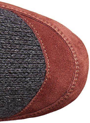 Acorn Men's Slouch Boot Slipper, Charcoal Ragg Wool, Medium/9-10 B US by Acorn (Image #8)