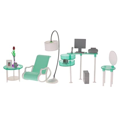 Amazon Com Dovewill 1 6 Dolls Furniture Computer Room Net Lounge