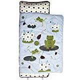 SoHo Nap Mat , Froggie Party (All Hand Embroidery)