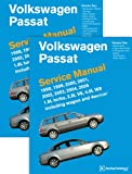 Volkswagen Passat (B5) Service Manual: 1998, 1999, 2000, 2001, 2002, 2003, 2004, 2005 [2 VOLUME SET]