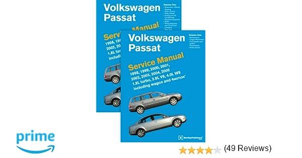 Volkswagen passat b5 service manual 1998 1999 2000 2001 volkswagen passat b5 service manual 1998 1999 2000 2001 2002 2003 2004 2005 2 volume set bentley publishers 9780837616698 amazon books fandeluxe Gallery