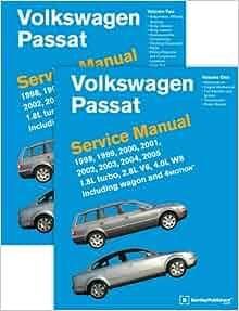 Read [pdf] volkswagen passat (b5) service manual: 1998, 1999, 2000, 2….