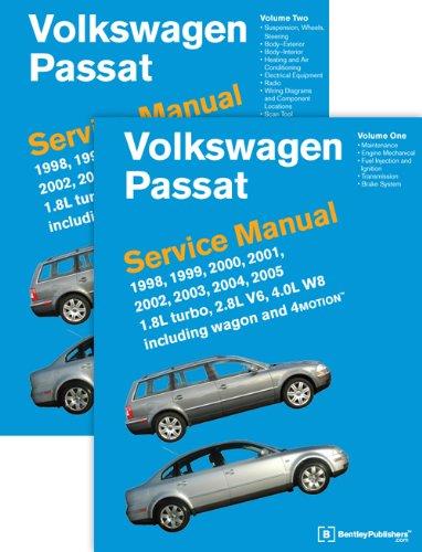 2004 Volkswagen Passat - Volkswagen Passat (B5) Service Manual: 1998, 1999, 2000, 2001, 2002, 2003, 2004, 2005 [2 VOLUME SET]