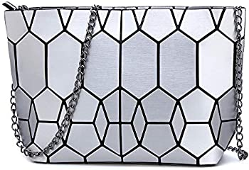 Kaisibo Geometric Purse Shoulder Handbags Crossbody Messenger Bag