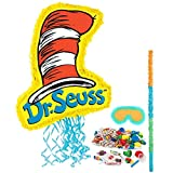 BirthdayExpress Dr Seuss Cat in The Hat Party Supplies Pinata Kit