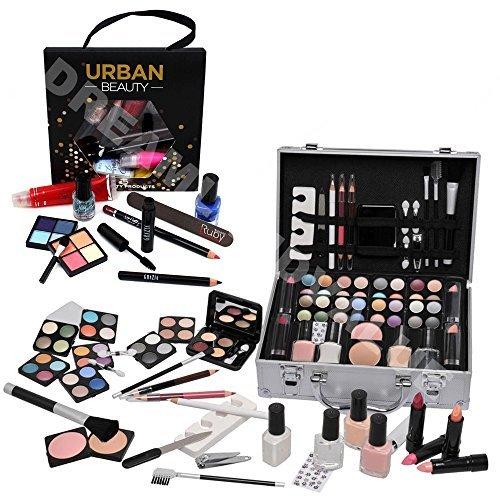 68 Piece Vanity Case Make Up Manicure Set Storage Box Beauty Cosmetic Gift Christmas Urban