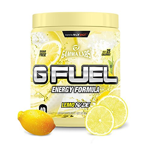 G Fuel Lemonade Tub (40 Servings) Elite Energy and Endurance Formula NET WT 9.8 OZ