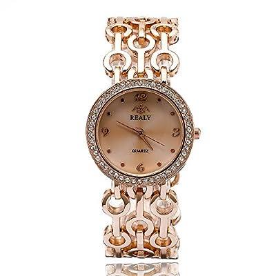 Women Wrist Watch REALY Ladies Dress Watch Rose Gold