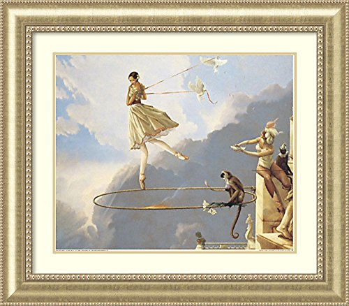 Framed Art Print 'Tuesday's Child' by Michael Parkes by Amanti Art