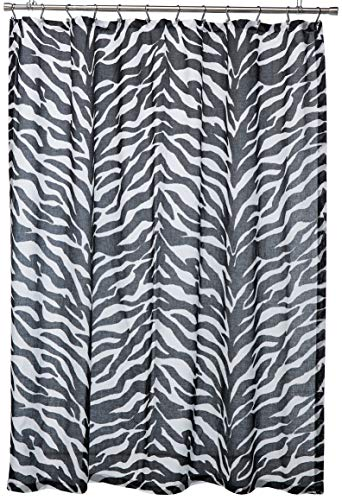 Kimlor Mills Karin Maki Zebra Shower Curtain, Black ()