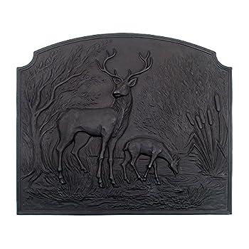 Image of Minuteman International Deer Cast Iron Fireback