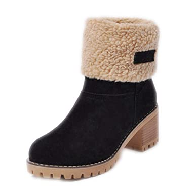 a9a23901f5c Image Unavailable. Image not available for. Color  Boots Female Winter ...