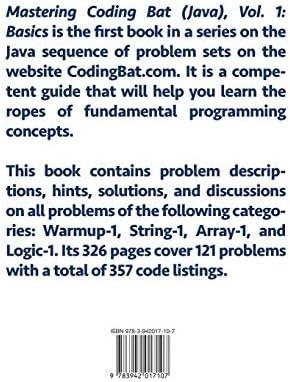 Mastering CodingBat (جافا)، فولت  1: الأساسيات: Gregor Ulm