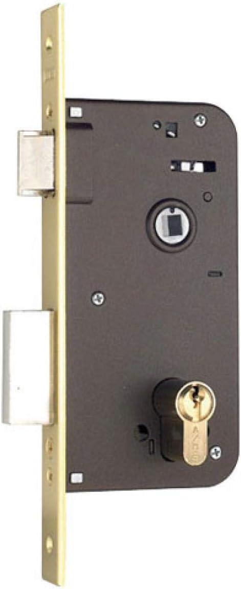 Niquelado Entrada 50 mm Yale 700803030HN Cerraduras de Embutir Est/ándar