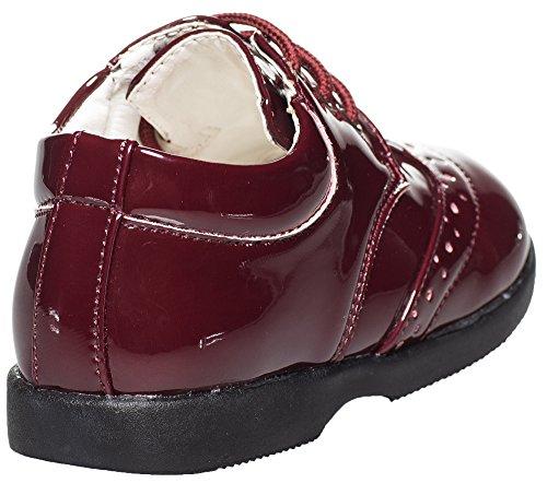 Paisley de Londres pour sang de bœuf, chaussures, chaussures de ville pour enfants de 1